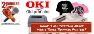 White Toner Transfers